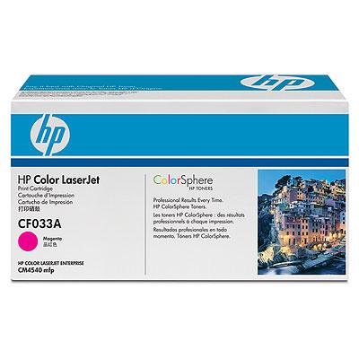Cartucho de impresion magenta HP Color LaserJet CF033A