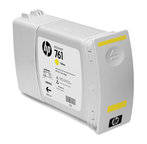 Ver Cartucho de tinta HP Designjet 761 amarillo de 400 ml