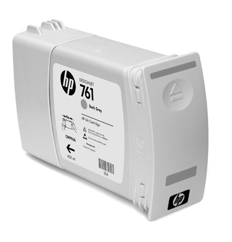 Ver Cartucho de tinta HP Designjet 761 gris oscuro de 400 ml