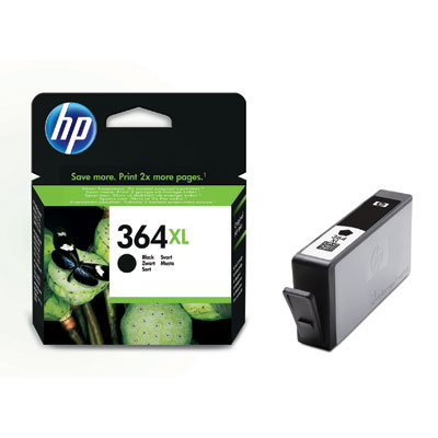 Ver HP CONSUMIBLE Cartucho de tinta negra HP 364XL