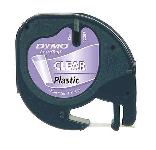 Ver Dymo 12mm LetraTag Plastic Tape S0721530