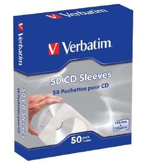 Ver Verbatim CD Sleeves  Paper  50pk