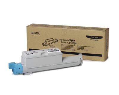Ver Xerox Cartucho de Toner Cian de Alta Capacidad  Phaser 6360