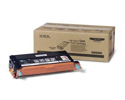Xerox Cartucho De Impresion Cian De Gran Capacidad  Serie Phaser 6180
