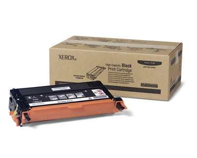 Xerox Cartucho De Impresion Negro De Gran Capacidad  Serie Phaser 6180