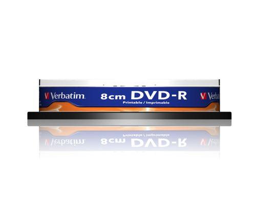 Verbatim Dvd-r 8cm Inkjet Printable