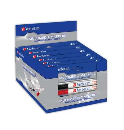 Verbatim Multi Media Markers In Retail Box