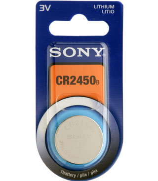 Sony Cr 2450 Battery