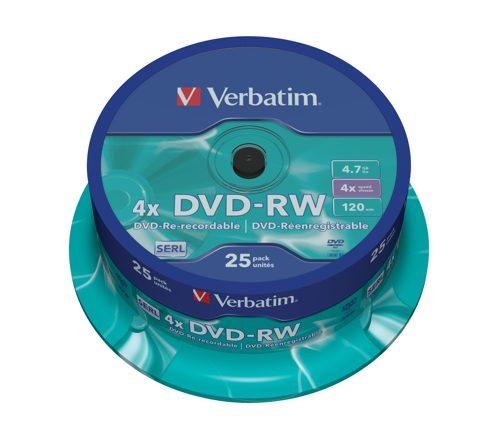 Verbatim Dvd-rw Matt Silver