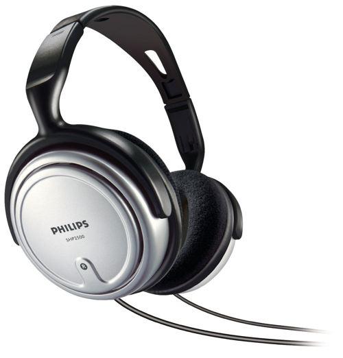Philips Shp2500 Supra-aurales Plateados Auriculares Interior Con Cable Para Tv