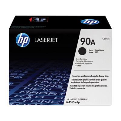 Cartucho de toner negro HP 90A para LaserJet