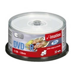 Imation Dvd-r Inkjet Printable Cakebox 30-pack