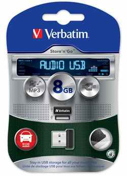 Verbatim 8gb Audio Usb