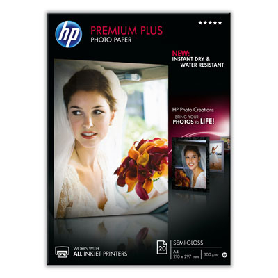 Ver HP Premium Plus Semi-gloss Photo Paper