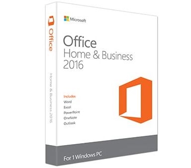 Ver DELL Microsoft Office Home Business 2016 1 PC
