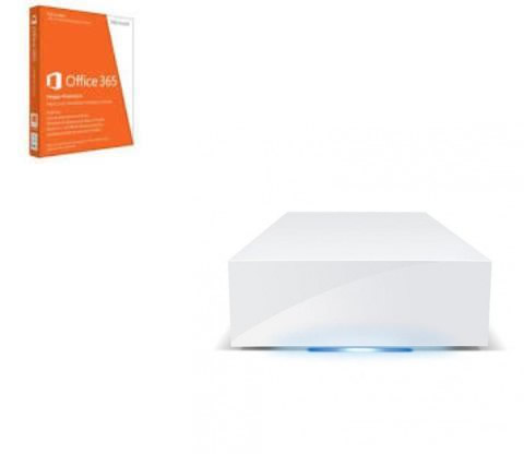 Lacie Disco Duro Externo Cloudbox 2tb Blanco Microsoft Office 365 Premium