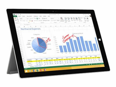 Ver Microsoft Surface 3 7GM 00018 128GB W10P