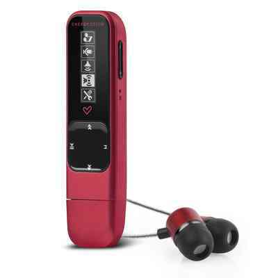 Ver Energy MP3 Stick 4GB 1404 Ruby Red