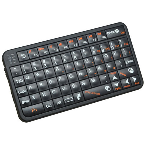 Ver Air Mouse Keyboard Wireless US Layout Negro