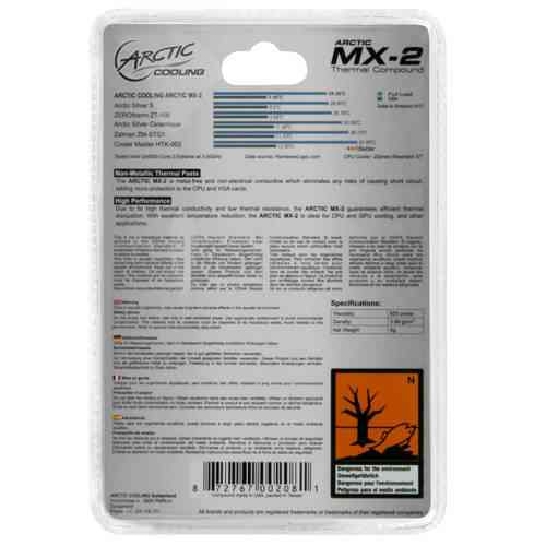 Arctic Mx 2 Thermal Compound 4gr
