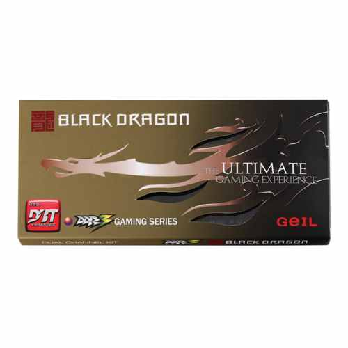 Geil Black Dragon Ddr3 1600mhz 16gb 2x8gb Pc3 12800 Cl10