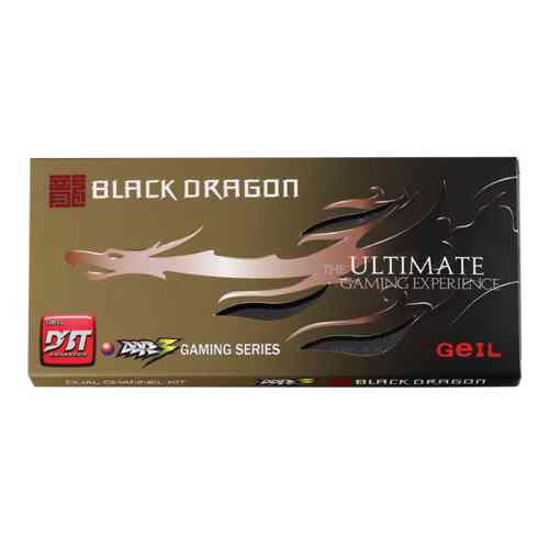 Geil Black Dragon Ddr3 1600mhz 16gb 2x8gb Pc3 12800 Cl11