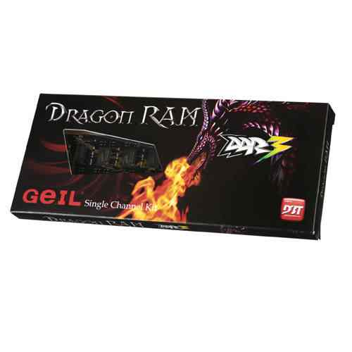 Geil Black Dragon Ddr3 1600mhz 8gb Pc3 12800 Cl11