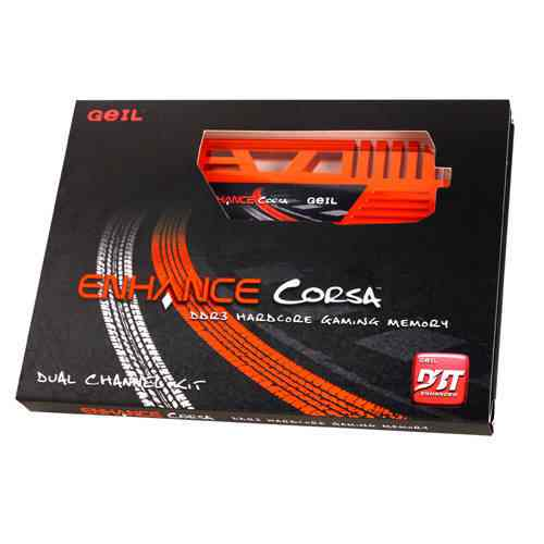 Geil Enhance Corsa Ddr3 1333mhz 8gb 2x4gb Pc3 10660 Cl9