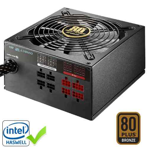 High Power Direct12 1000w 80plus Bronze Modular
