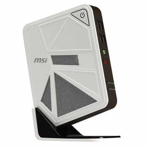 Msi Wind Box Dc111 Celeron1037 No Hd No Gb Blanco