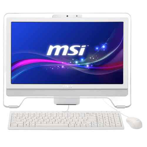 Msi Wind Top Ae2081 G20204gb500gb 20pulg Tactil Blanco