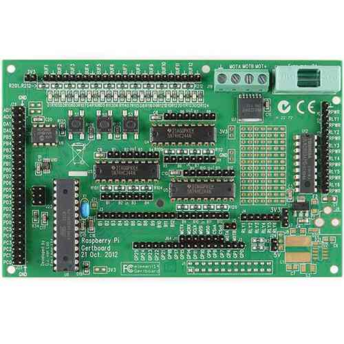 Placa De Expansion Io Gertboard Para Raspberry Pi