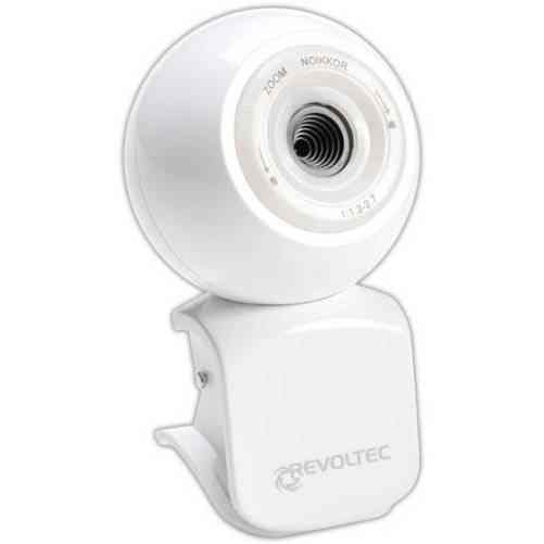 Revoltec Rz042 Webcam W1 Blanca Collectors Edition