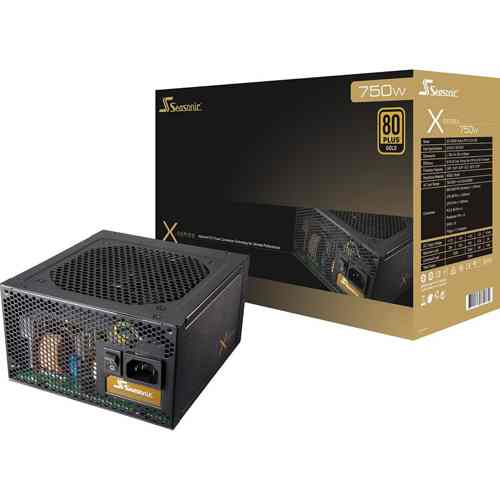 Seasonic X750w Semifanless Gold Modular