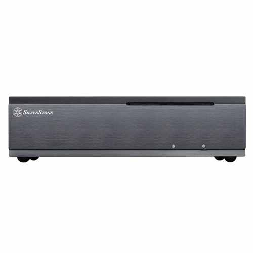 Silverstone Ml06b Usb 30 Negra Slim Htpc Mini Itx