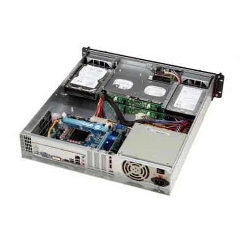 Travla T 2340 Caja Rack 2u 0w 4 Hd Hot Swap Micro Atx