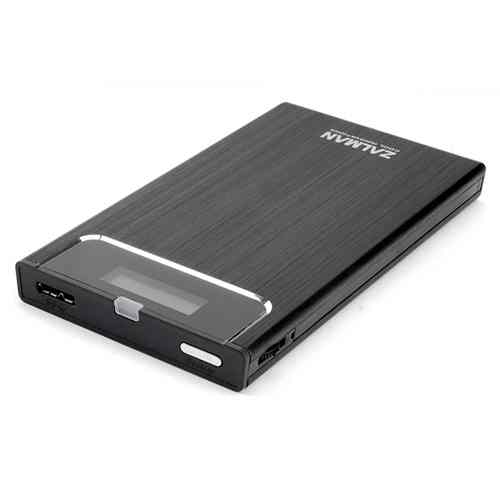 Zalman Ve300 Caja Hdd Usb 30 Con Virtual Odd
