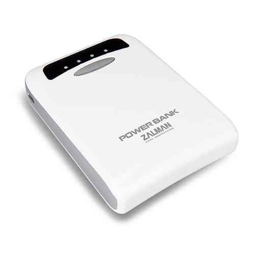 Zalman Zm Pb112iw Portable Battery Charge 11200mah