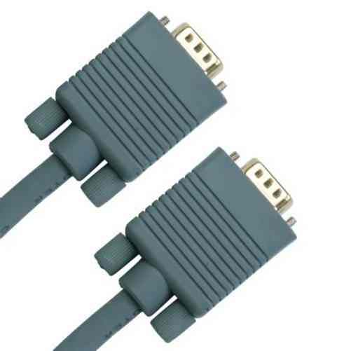 Cable Vga Hd15p Hd15p 2m Gris
