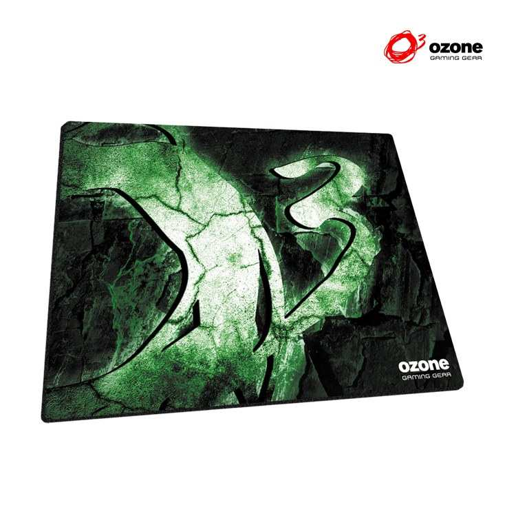 Alfombrilla Gaming Ozone Rock Green Edition