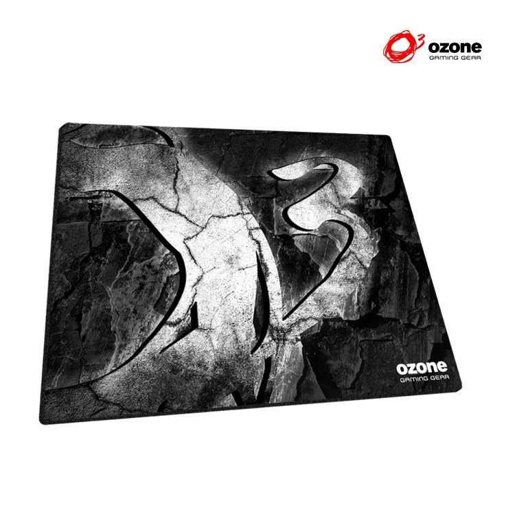 Alfombrilla Gaming Ozone Rock White Edition