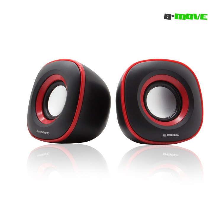 Altavoces B-move 20 B-blast Color Rojo