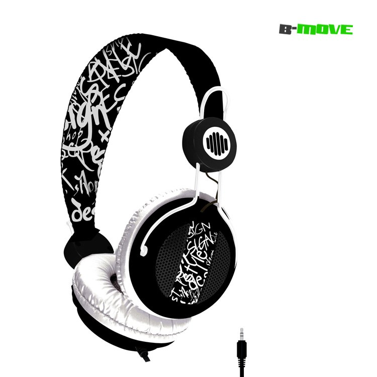 Auricular B-move Sound Wave Negroblanco   Micro