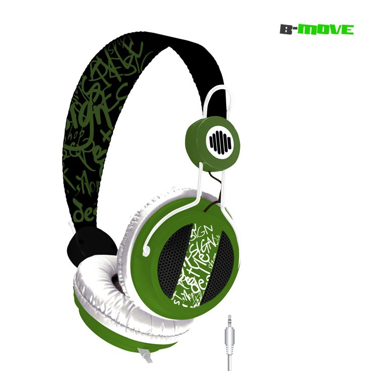 Auricular B-move Sound Wave Negroverde   Micro