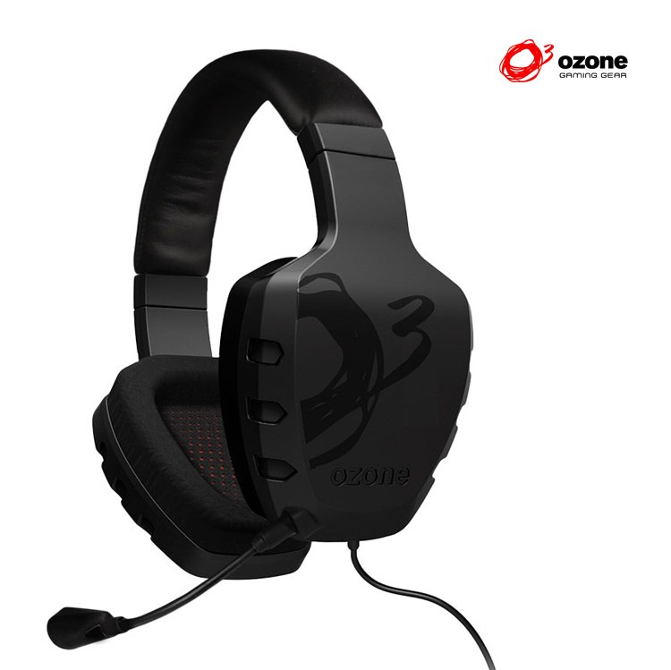 Ver Auricular Gaming OZONE Rage ST Estereo Negro
