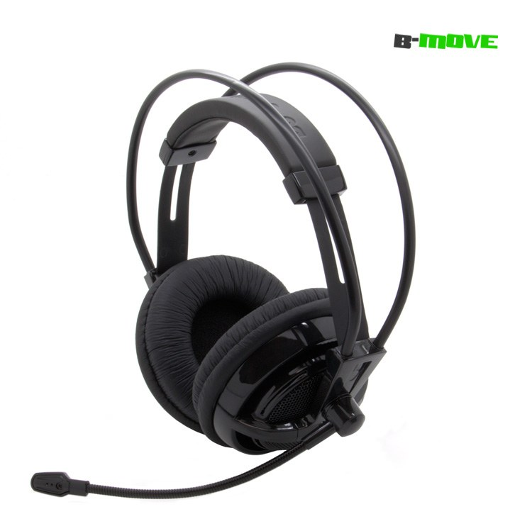 Auricular Gaming B-move Air Force Xbox360 Negro