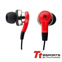 Auriculares Isurus In Ear Rojo Jack 35mm