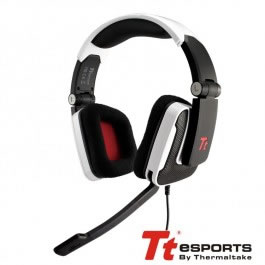 Auriculares Gaming Tt Esports Shock Blanco Surr