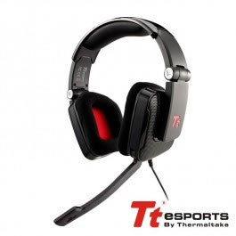 Auriculares Gaming Tt Esports Shock Negro Surround