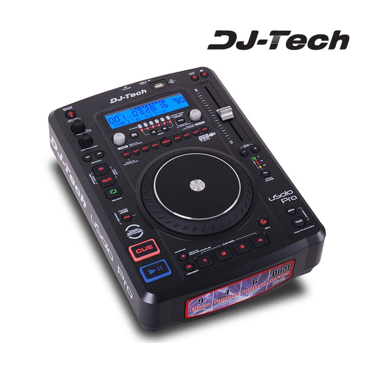 Base Multimedia Djtech Usolopro Con Efectossample